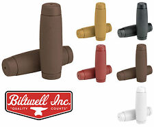"""Biltwell Recoil Motorcycle Grips - 7/8"""" 1"""" - CHOOSE SIZE & COLOR"""