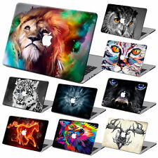 Animal Pattern Rubberized Hard Case Cover +KB+SP For Macbook Pro Air 11 12 13 15