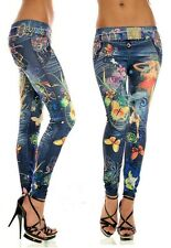 New Women Colorful Skinny Jeans Leggings Stretchy Jeggings Trousers Casual Pants