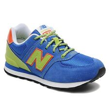 New Balance Classic Traditionnel Blue Youths Trainers