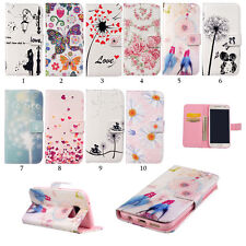Flip Shockproof Stand Soft Card Wallet Leather Case Cover For Samsung Cute Phone