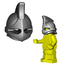 Custom RHINO Helmet for Lego Minifigures LOTR HOBBIT Castle Knight Gladiator