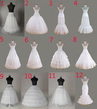 Petticoat crinoline hoopless underskirt  Wedding petticoat prom fishtail mermaid