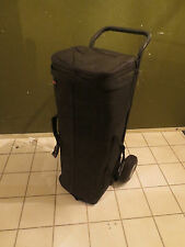 RARE IMPACT DRUM HARDWARE BAG CARRYING CASE DOLLY WITH WHEELS!!