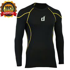 Didoo Men's Compression Shirts Full Sleeves Tops Under Layers Fitness Wear 2016