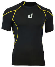 Didoo New Men's Compression Base Layers Tops Half Sleeves Tight Fit Jerseys 2016