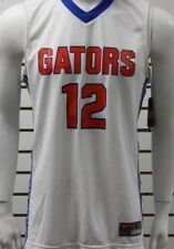 Men's Nike Dri-Fit Florida Gators #12 Basketball Jersey White/Blue/Orange NWT