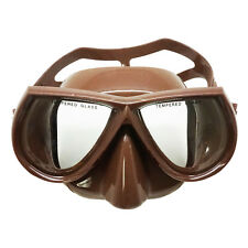 Palantic Spearfishing Brown Dive Mask Nearsighted Prescription RX Optical Lenses