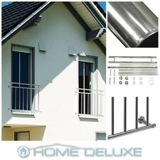 French balcony railing window balustrade grille stainless steel V2A