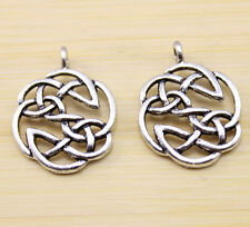 10/30/50 pca Very beautiful ancient Tibet silver Chinese knot charm pendant