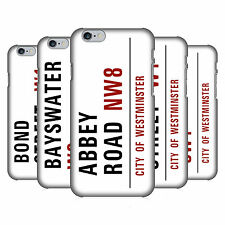 OFFICIAL LONDON STREET SIGNS HARD BACK CASE FOR APPLE iPHONE PHONES
