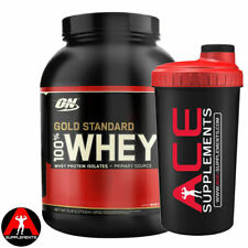 Optimum Nutrition ON 100% Gold Standard Whey 2.27kg + Free Ace Shaker Protein