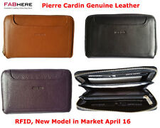 Pierre Cardin Womens RFID Proteced Italian Leather Zip Around Wallet - PC1913