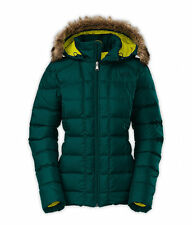 $230! NWT North Face Women's Gotham Down Jacket Coat - Deep Teal Blue - Size XS