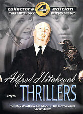 Alfred Hitchcock Thrillers  Man Who Knew Too Much/Secret Agent/The Lady Vanishes