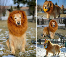 Pet Costume Lion Mane Wig for Dog Cat Puppy Halloween Clothes Fancy Dress up