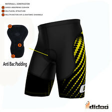 New Men's Cycling Boxer Sports Shorts Fitness Wear Gym Knickers Lycra Skin Tight