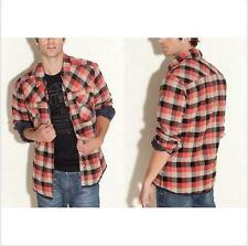 GUESS $128 Men's Light Padded Casual Plaid Shirt Jacket Size XS and M