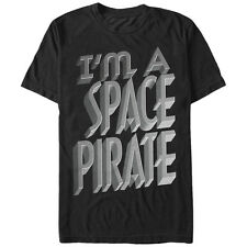 Lost Gods I'm a Space Pirate Mens Graphic T Shirt