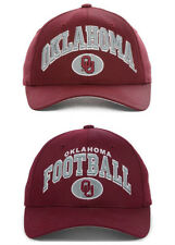 Oklahoma Sooners OU Embroidered Adjustable Snapback Cap Hat (Crimson) NWT