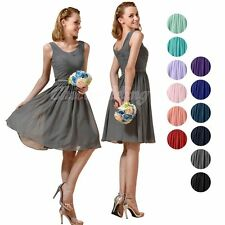 Short Bridesmaid Dresses Cocktail Party Evening Homecoming Prom Gown Size 4 6 8