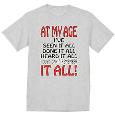 funny aging birthday gift t-shirt 60th 70th 80th 90th old retired retirement tee
