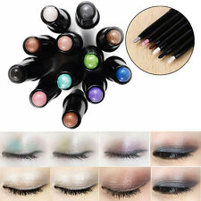 6 Colors Cosmetic Glitter Lip liner Eye Shadow Stick Eyeliner Pencil Makeup Pen