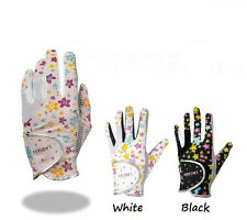 Ladies Golf Gloves Pair of Womens Left Right Hand Golf Golve Printing Two Colors