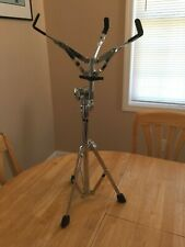 PREOWNED PEARL SINGLE BRACED SNARE DRUM STAND EUC