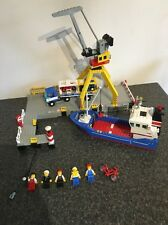 Lego 6541 Intercostal Seaport with Box And Instructions -City Harbour Ship Port