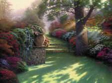Thomas Kinkade Pathway to Paradise Art Canvas HD Giclee Print Wall decor picture
