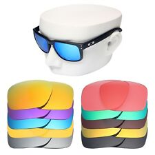 OWLIT Iridium Replacement Lenses for-Oakley Holbrook Sunglasses Polarized