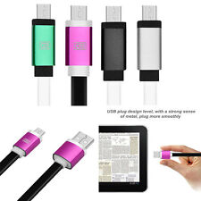 New Micro USB Charger Charging Sync Data Cable For Samsung Galaxy S2 S3 S4 HTC