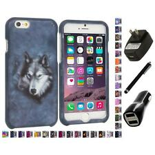 For Apple iPhone 6 PLUS 5.5 Hard Design Case Cover Accessory Charger+Stylus