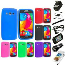 For Samsung Galaxy Avant G386 Silicone Rubber Case Cover 7X Accessories