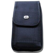 Heavy Duty Carrying Case Pouch Belt Clip Holster for Cell Phones - Black