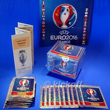 Panini EURO France 2016: Official sealed packets of stickers + Unique Checklist