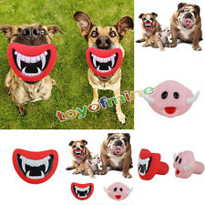 Pet Dog Giggle Treat Training Chew Sound Activity Toy Squeaky Chew Toys Puppy