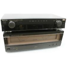 Technics SE-A909S Hi-Fi Power Amplifier & SU-C909U Pre-Amp inc Warranty