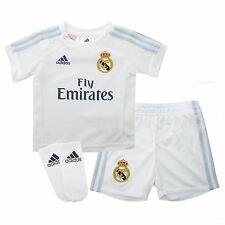 Adidas Real Madrid Home Kit 2015 2016 Baby White La Liga Football Soccer