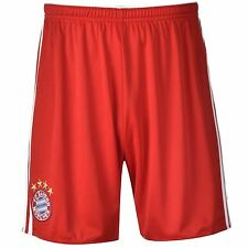 Adidas FC Bayern Munich Home Shorts 2014 2015 Mens Red/Blue Football Soccer