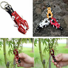 1X Climb Hook Carabiner Clip Lock Keyring Keychain Ring Chain Multicolor Durable