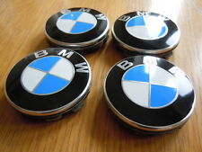 BMW Genuine Wheel Centre Caps for Alloy Wheels ** Set of 4x 68mm- 1 3 5 series