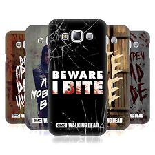 OFFICIAL AMC THE WALKING DEAD TYPOGRAPHY HARD BACK CASE FOR SAMSUNG PHONES 3