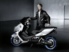 BMW Concept C Bike Motorcycle Gigantic Print POSTER