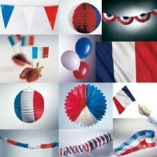 France Blue/White/Red Red Party Decoration Festive USA America Soccer Decor New