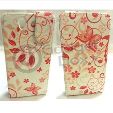 BUTTERFLY DESIGN STYLE PRINT PU FLIP LEATHER POUCH CASE COVER FOR SONY XPERIA Z