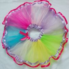 Kid Girl Tutu Ballet Dance Dress Party Dancewear Puff Skirt Pettiskirt Costume