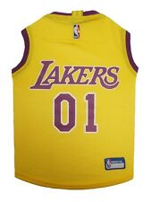 LA Lakers Dog Jersey Officially Licensed NBA Products