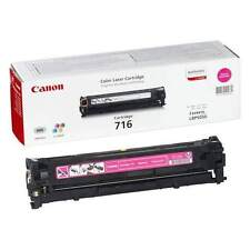GENUINE CANON 716M (1978B002AA) MAGENTA LASER PRINTER TONER CARTRIDGE